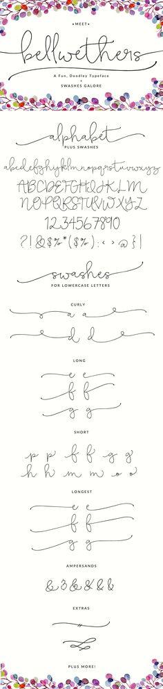 Bellwethers Font - Script