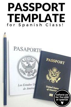 Spanish Travel Unit - Create a Spanish Passport - Mi Pasaporte