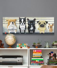 Another great find on #zulily! Brian Rubenacker The Lineup Wrapped Canvas by iCanvas #zulilyfinds