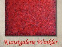 Abstrakte Gemälde Acrylbilder Rot UNIKAT 80 x 80  http://de.dawanda.com/shop/A-Winkler