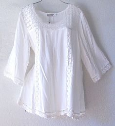 New Pink Purple White Peasant Top Floral Boho Ruffles Lace Blouse Nice Dresses, Prom Dresses, Shirt Blouses, Shirts, Peasant Blouse, Boho Tops, Plus Size Tops, Crochet Lace, Blouses For Women