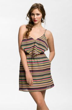 Mimi Chica Scarf Dress (Juniors) available at #Nordstrom