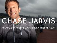 Chase Jarvis -- a visual resume of photographer, blogger, and entrepreneur.