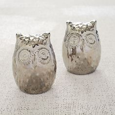 How cute are these Owl Salt & Pepper Shakers?