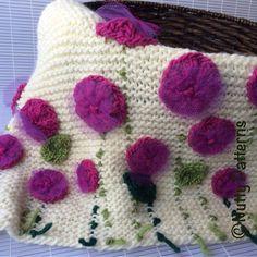 Ravelry: Flower Bed Blanket pattern by Bina Alper