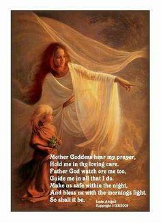 #wicca #goddess #goddessprayer