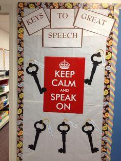 Speech and Language Bulletin Board