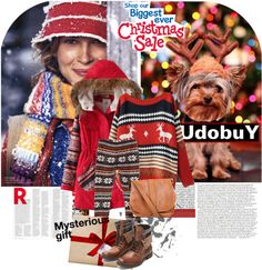 """Christmas with Udobuy.com"" by vict0ria ❤ liked on Polyvore"