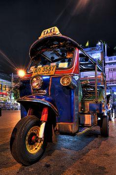 Bangkok - Tuk-tuk.....Rode on Tuk-tuks while in Bangkok they are so much FUN!!