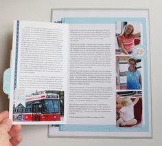 Une page pas à pas avec Anya - Les Papiers de Pandore