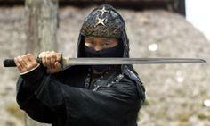 A ninja master in Japan