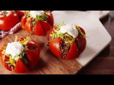 Taco Tomatoes | Delish