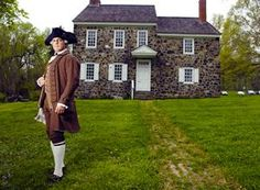 Wedding Ceremony would be held in front of the house George Washington stayed in and the priest would wear something like this, hopefully