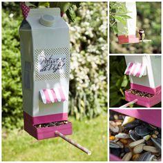 Makeover DIY: Vogelhaus von Lililotta