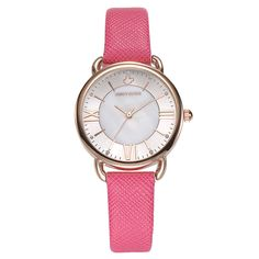 >> Click to Buy << fashion woman red Genuine leather watches luxury diamond Disney ladies business clocks waterproof quartz wristwatch Mickey Mouse #Affiliate