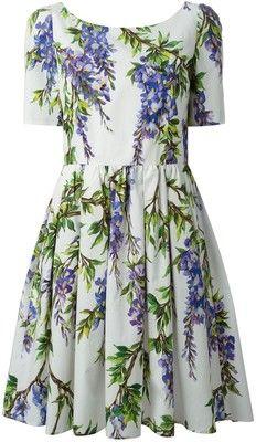 Dolce and Gabbana Wisteria Dress