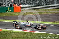 ART Grand Prix team GP2 during free practice session in occasion of the 2015 Italian Grand Prix weekend at Monza