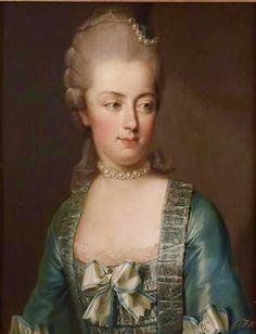Maria Antonieta, pintada por Joseph Hickel