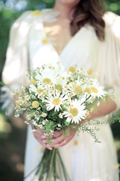 Here S What I Think Daisies For The Bridesmaids Sunflowers Me