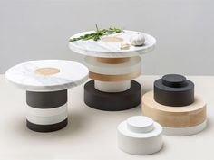 Piédestaux Food Pedestal by mpgmb