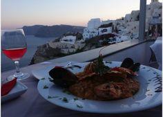 Floga - Oia, Santorini, Greece - #3 Restaurant in Oia (great for sunset drinks, dinner)