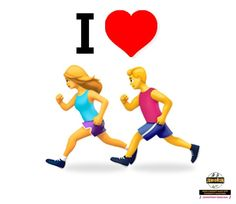 This World Emoji Day, tell the world that you love to ‍♀  Share with ur friends who love to run  #FitKidHealthyAdult