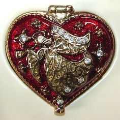 Heart Shaped Angel Trinket Box by FantasyStock on deviantART I Love Heart, With All My Heart, Happy Heart, Ace Of Hearts, Big Hearts, Angel Heart, Pretty Box, Love Symbols, Sacred Heart