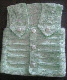 One Piece Knitted As Seamless Collar And Sleeve Cut Non Easy Vest Style – Baby out Fits Baby Sweater Knitting Pattern, Sweater Knitting Patterns, Knitting Designs, Gender Neutral Baby Clothes, Baby Vest, Free Baby Stuff, Baby Sweaters, Kind Mode, Chelsea