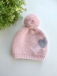 Knitted Hats Kids, Baby Hats Knitting, Baby Knitting Patterns, Hand Knitting, Crochet Baby, Knit Crochet, Diy Crafts Knitting, Knitting For Beginners, Etsy