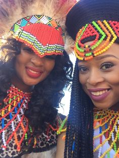 Jabu & Thabani's Gorgeous Zulu Wedding For 2019 Zulu Traditional Wedding, African Traditional Wear, Traditional Outfits, Zulu Wedding, Wedding Blog, South African Tribes, Zulu Women, African Wedding Attire, South African Weddings