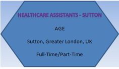 NEW JOB VACANCIES FROM AGE121 :) FIND MORE AT WWW.AGE121.COM/... :) New Job Vacancies, Greater London, Health Care, Health