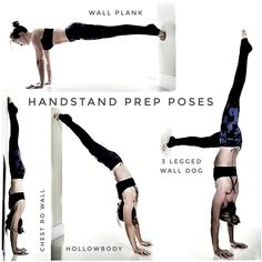 What is 'doing a handstand' to you? For me someone that can do a handstand is someone that can hold it in the centre of the room for a… Yoga Handstand Poses, Handstand Training, Handstand Progression, Handstand Challenge, Press Handstand, Yoga Challenge, Yoga Poses, How To Handstand, Wall Handstand