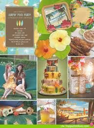 hawaiian sweet 16 theme decorations - Google Search