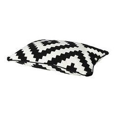"LAPPLJUNG RUTA cushion cover, white/black Length: 16 "" Width: 24 "" Length: 40 cm Width: 60 cm"