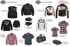 Harley-Davidson Motorclothes - Collezione Spring 2012