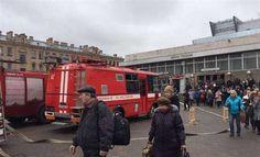Două explozii puternice s-au produs luni într-o statie a metroului din Sankt-Petersburg soldată cu cel putin 10 victime si 50 de răniti Street View