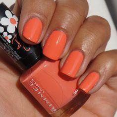 Orangina - Rimmel Rita Ora collection / beautylab Nail Polish Collection, Rita Ora, Rimmel, Interview, Nail Art, Hands, Cosmetics, Color, Ideas