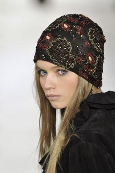 Ralph Lauren | Embroidery Cloche. v