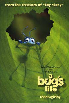a bug's life- my fave of the Pixar/Disney films Animated Movie Posters, Disney Movie Posters, Pixar Movies, Disney Movies, Animation Movies, Comedy Movies, Watch Movies, Love Movie, Movie Tv