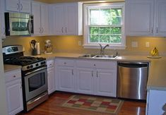 Mobile Home Kitchen Remodel Ideas #mobilehomekitchens