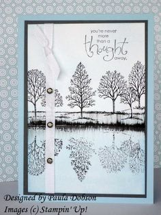 A WHOLE LOT OF Lovely as a Tree cards -- a goldmine for me