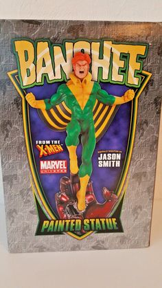 """BOWEN DESIGNS MARVEL """"BANSHEE"""" Stands over 16 Inches Strictly Limited Neu! Marvel, Xmen, Sculpting, Comic, Statue, Ebay, Painting, Design, Characters"""