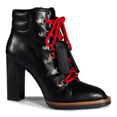Lace-up Ankle Boots in LeatherXXW02A0S180F5SB999