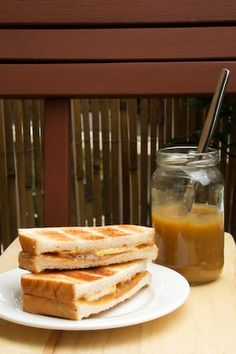 Homemade Kaya (Coconut Jam), on Toast with Soft Boiled Eggs by raspberri cupcakes, via Flickr