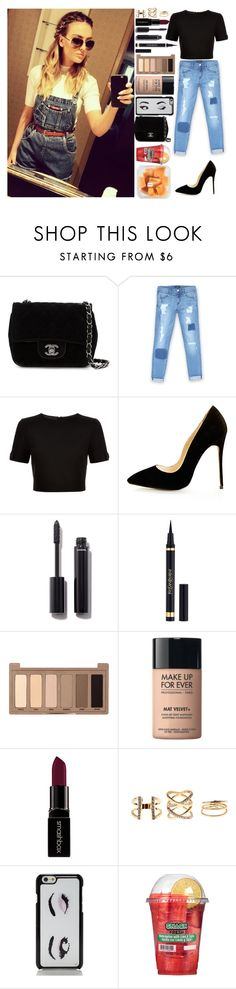 """""""Selfies With Perrie"""" by kkluvsyou24 ❤ liked on Polyvore featuring Chanel, Bebe, Ted Baker, Yves Saint Laurent, Urban Decay, MAKE UP FOR EVER, Smashbox, Charlotte Russe and Kate Spade"""