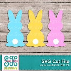 can be cut with the Silhouette Cameo, Cricut Explore, & other electronic cutting machines. High resolution JPG & PNG files are included. Happy Easter, Easter Bunny, Egg And I, Cricut Creations, Hello Spring, Coloring Book Pages, Planner Stickers, Gift Tags, Card Making