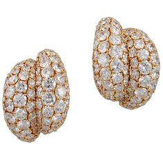 H & D Diamonds is your direct contact to diamond trade suppliers, a Bond Street jeweller and a team of designers.www.handddiamonds...Tel: 0845 600 5557 - VAN CLEEF & ARPELS Diamond Earrings | 1stdibs.com