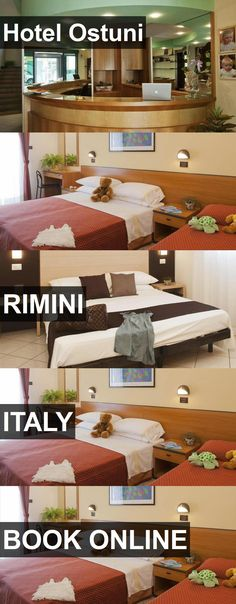 Hotel Ostuni in Rimini, Italy. For more information, photos, reviews and best prices please follow the link. #Italy #Rimini #travel #vacation #hotel