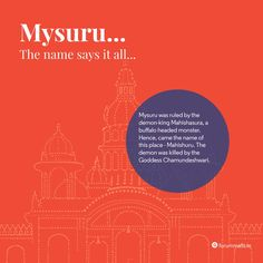 Did you know the inception of our heritage city? #nammamysuru #MaharajaofMalls