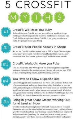 Crossfit MYTHS... its all true... #crossfit